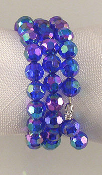using acrylic beads